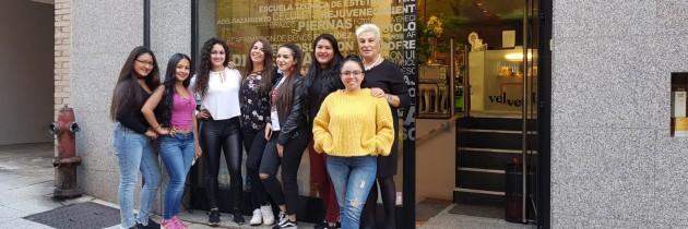 Curso de Estética Holistica de CENTRO VELVET para la Agencia Desarrollo Local de Santander